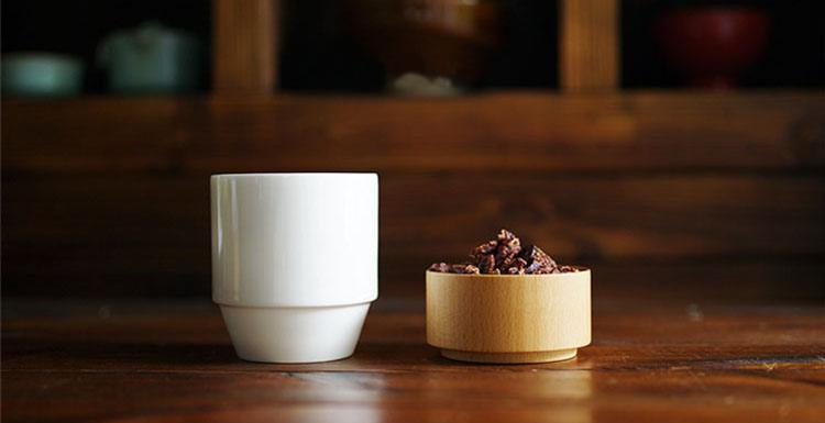 白 黑款榉木单杯 质造上下杯 支持刻字,下单备注刻字内容 3年打磨,连马云也会买的杯子,海蜜严选专供 全球优选